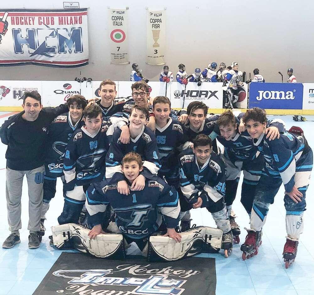 Milano è Dolce per l'Hockey Imolese