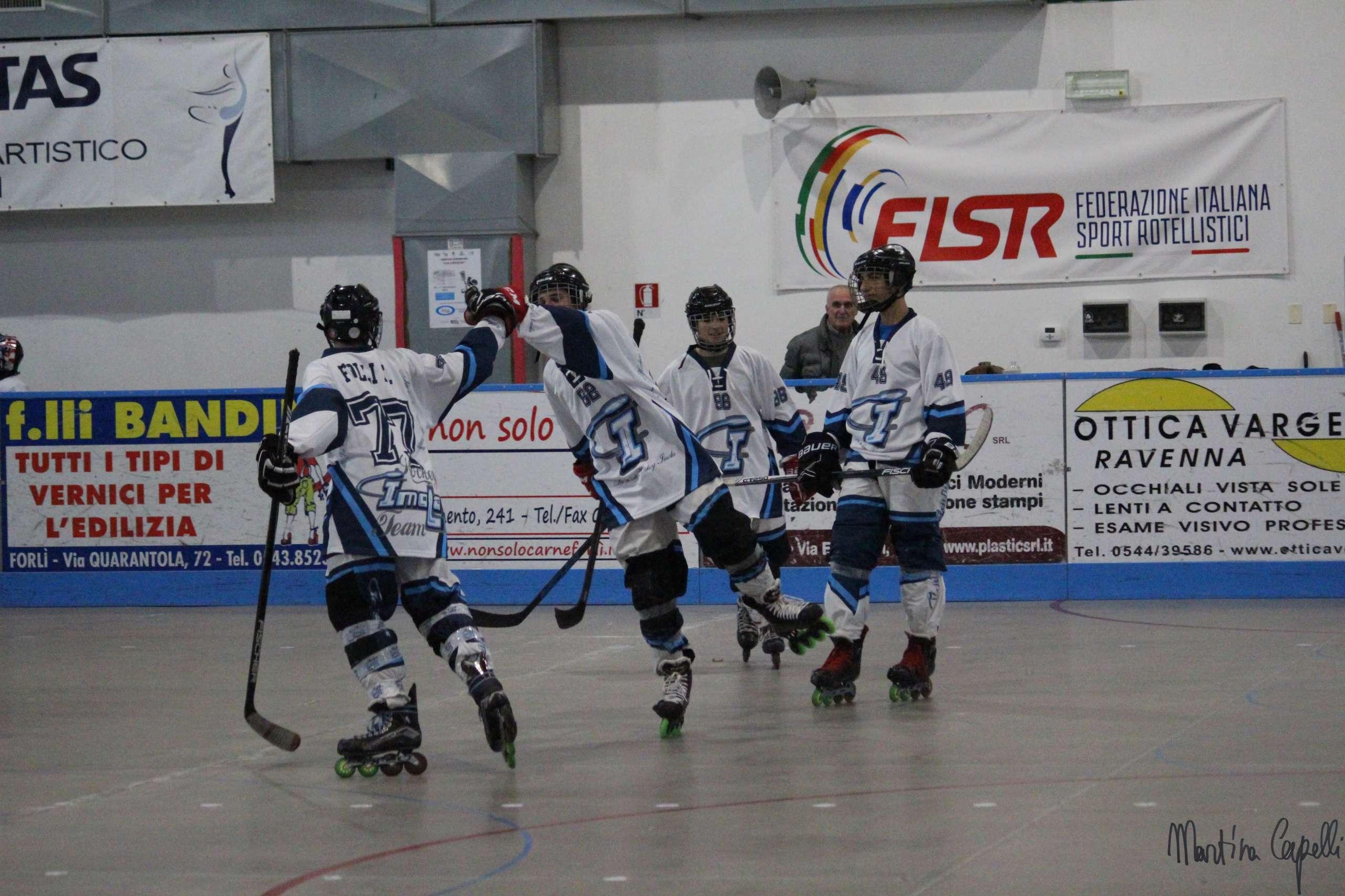 L'anno nuovo porta vittorie all'Hockey Imola